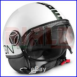 Helmet Open Face MOMO DESIGN FGTR CLASSIC white/black Size XL 61 cm
