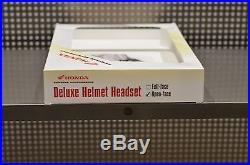 Honda Genuine Accessories Deluxe Headset Open Face Helmet / Goldwing / F6B
