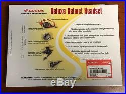Honda Goldwing GL1800 Deluxe Headset Open Face Helmet Comm 08B82-MCA-100 OEM