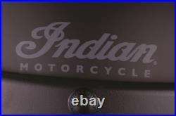 INDIAN MOTORCYCLE BLACK RETRO STRIPE CHECKER OPEN FACE HELMET sizes XL 2X