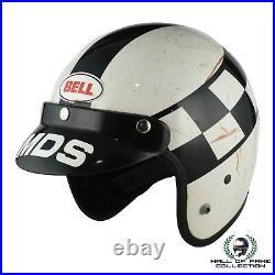 Innes Ireland Original Worn Open Face Bell Magnum Helmet