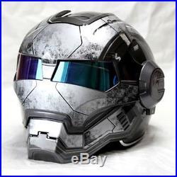 Iron motorcycle helmet Masei man open face half helmet High quality