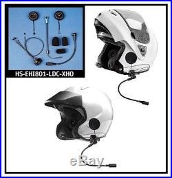 J&m Hs-ehi801-ldc-xho Flip-front/open Face 801 Elite Series Headset