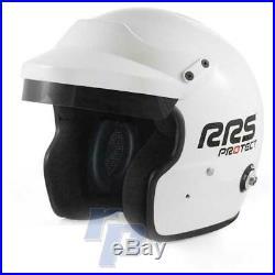 Jethelm mit HANS-Clips, Größe XL, FIA 8858-2015 & Snell-SA2015 open face helmet