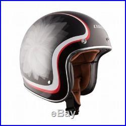 LS2 OF583 Bobber Open Face Helmet Glow Black (LG / Large) 583-1104