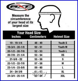 L Large WARRIOR Street Fighter Motorbike Road Helmet Matt Black Full Open Face