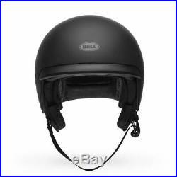 Large Bell Scout Air Matte Black Motorycle Scooter Helmet Street Bike Open Face