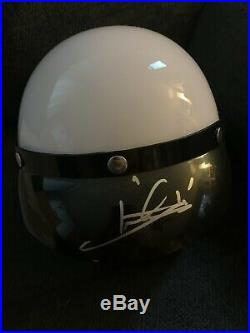 Mario Andretti Signed Adult Full Size Open-Faced Helmet New Autographed Indy 500