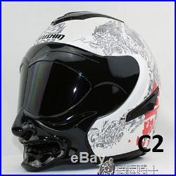 Marushin C609 Full Face Helmet Dual Lens Open Face Motorcycle Helmet