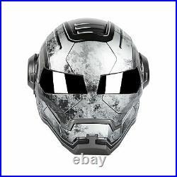 Masei 610 Gray War Machine Motorcycle Harley Bike Arai HJC Open Face HELMET L1