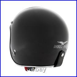 Moto Guzzi Jet Helmet Metalflank Open Face Genuine Original Part Free Uk P&p