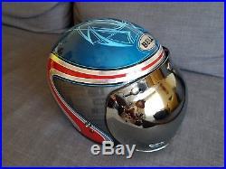 Motorbike helmets open face black harley