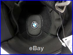 NEW Bmw Legend Open Face Motorcycle Helmet Black/White Large 76318551268 nineT