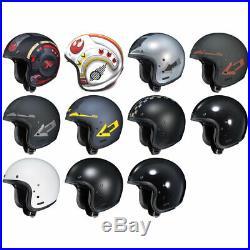 NEW HJC IS-5 Open Face Motorcycle Helmet & Drop Visor DOT Pick Size & Color