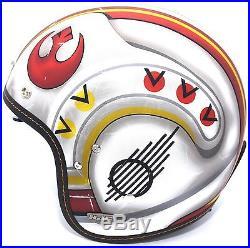 NEW HJC x Star Wars IS-5 X-Wing Fighter MC1F Open Face Motorcycle Helmet Medium