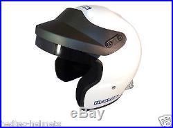 NEW! Hedtec Rapido FHR HANS Open Face Motorsport Helmet Snell SA2015