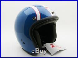 NEW Steve McQueen BELL HELMET Replica 6 Day Limited Motorcycle RT Open Face R/T