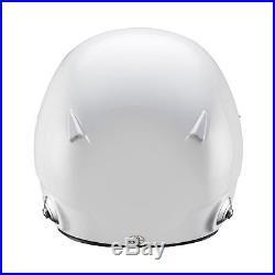 Neu 2017 Sparco PRO-RJ-3 Open Face Helm Weiß (mit FIA homologation) (M/L)