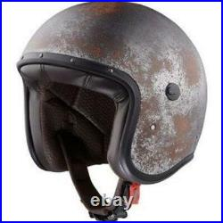 New Caberg Jet Free Ride Black Rusty Open Face Helmet Was $399.95