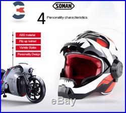 New motorcycle helmet Iron Man Masei open face half helmet High quality Biker
