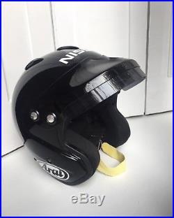 Nissan GTR edition Arai open face crash helmet GP JET/f Snell-SA