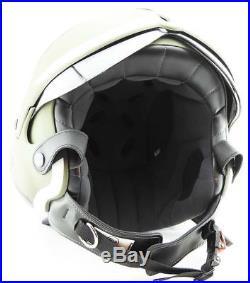 OPEN FACE MOTORCYCLE HELMET OSBE GPA AIRCRAFT TORNADO GREEN S 55-56 cm + MASK