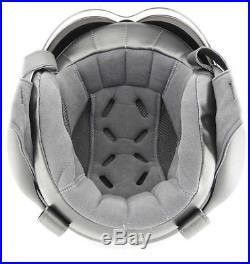 OPEN FACE SCOOTER HELMET OSBE GPA AIRCRAFT TORNADO MATT BLACK M 57-58 cm