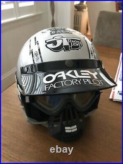 Old School Vintage All Sport Open Face Bmx Moto Helmet DIAMONDBACK Bmx