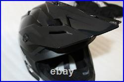 Open Box 509 Altitude Snocross Open Face Snowmobile Helmet ChinCurtain SDP000009