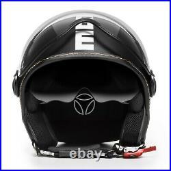 Open Face Helmet Momo FGTR EVO Italian Motorcycle Scooter Cafe Racer Motorbike