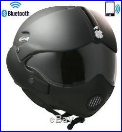 Open Face Motorcycle Helmet Gpa Tornado Bluetooth Headset Intercom Radio Phone