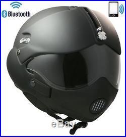 Open Face Motorcycle Helmet Gpa Tornado Bluetooth Headset Intercom Radio Phone L