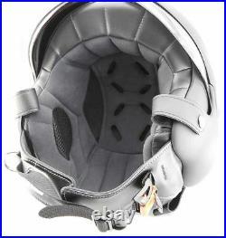Open Face Scooter Helmet Osbe Gpa Aircraft Tornado Matt Black Xl 61-62 Cm