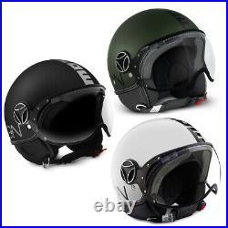 Open Face helmet Momo Design FGTR Classic Premium Motorcycle Crash Demi-Jet