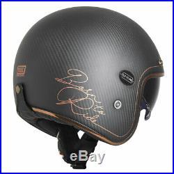 Origine Sirio Open Face Motorbike Motorcycle Helmet Carbon/Bronze