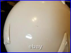 (Pair) ARAI SZ/C Open Face DOT Snell Helmets with Integrated Headset (White) XL