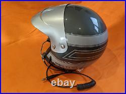 Peltor Open Face Rally or Race Crash Helmet with Peltor Intercom