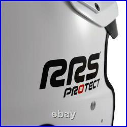 RRS Protect Open Face Helmet Fia 8859-2015 White M