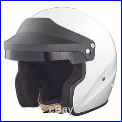 RSA Ace Open Face Race/Rally/Track/Competition/Motorsport Helmet FIA & SNELL