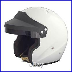 RSA Ace Open Face Rally/Racing/Competition/Race Snell SA2015 Helmet/Lid