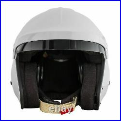 RSA BF1-R7 Snell & FIA Approved Race Racing Rally Car Open Face Crash Helmet