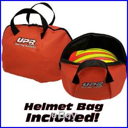 RaceQuip Open Face Auto Racing Helmet Large White SA2015 NEW