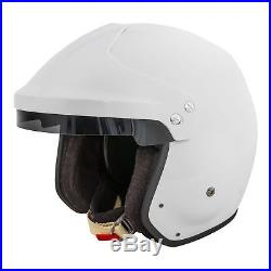 Race Safety Accessories BF1-R7 Snell & FIA Approved Open Face Crash Helmet Lid