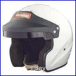 Racequip Open Face Race Helmets Hans Ready -snell Sa 2015 Orci Approved
