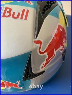 Red Bull Helmet Hebo Zone 4 Trials Open Face