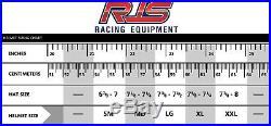 Rjs Racing Helmet Medium Matte Black Sa2015 Open Face Snell 2015