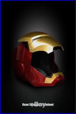 Roan Toys Iron Man MK3 Costume Mask Face Helmet LED Open Close 11 Wear