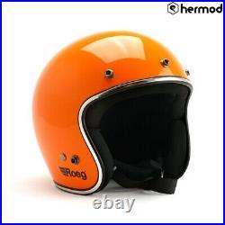 Roeg Jett Open Face Motorcycle Helmet Corn Yellow