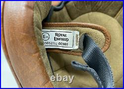 Royal Enfield Open Face Helmet/ 050527/J-00988/tan Leather/SIZE XL/free Shipping