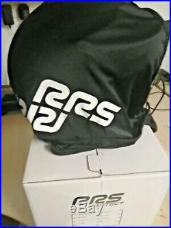 Rrs Jet Open Face Helmet With Hans, White, Large, Race, Rally